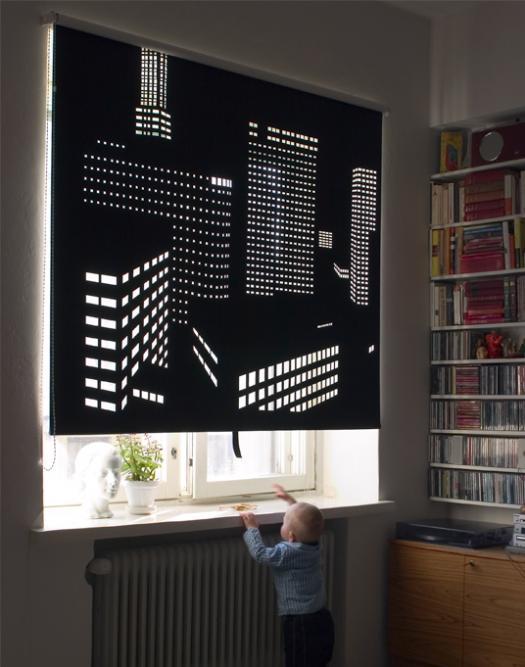 image of Cityscape Window Shades by Elina Aalto