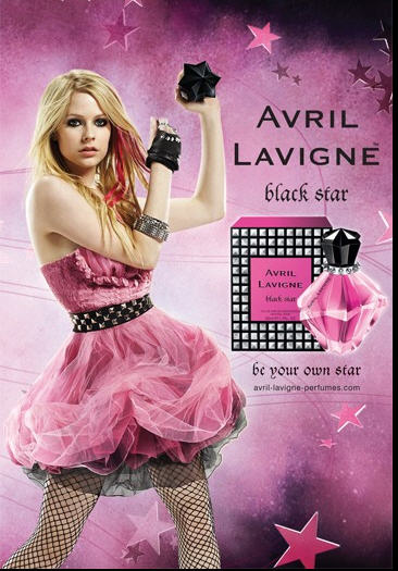 avril lavigne fashion style. Avril Lavigne Black Star