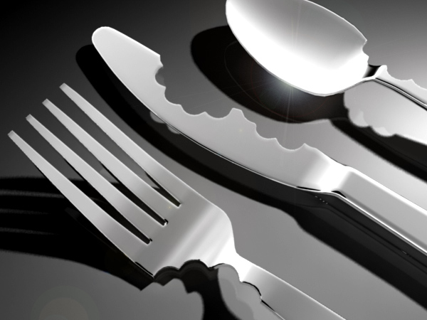 Bite Silverware by Mark Reigelman