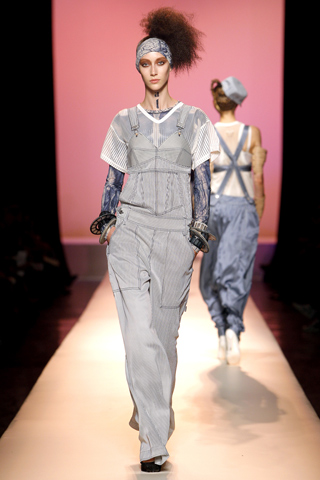 Image of Jean Paul Gaultier Denim BibOveralls 2010