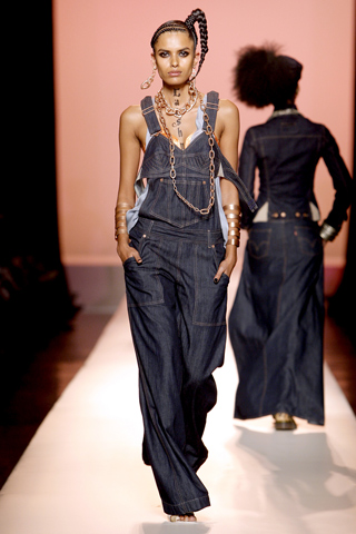 Image of Jean Paul Gaultier Denim Overalls 2010