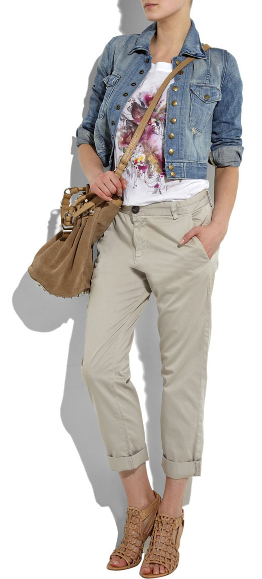 image of current Elliott the Captin Khaki pants