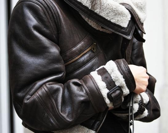 image of military fashion black jacket