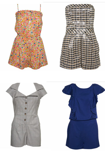 image of rompers from recession runways