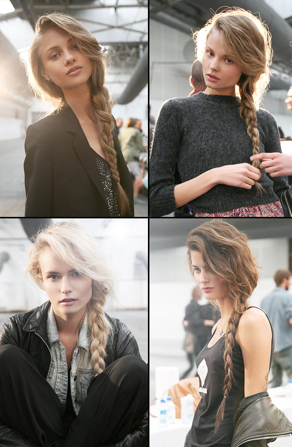 side braid summer styles 2010