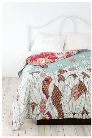UO Falling Leaves Quilt
