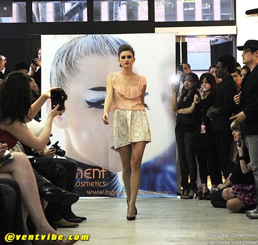 image of Designer Alyssa Nicole at SFFW 2010