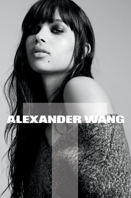 image of Zoe Kravitz for Alexander Wang