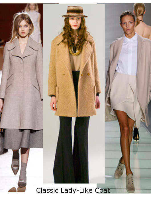 womens fall 2010 classic coat trends