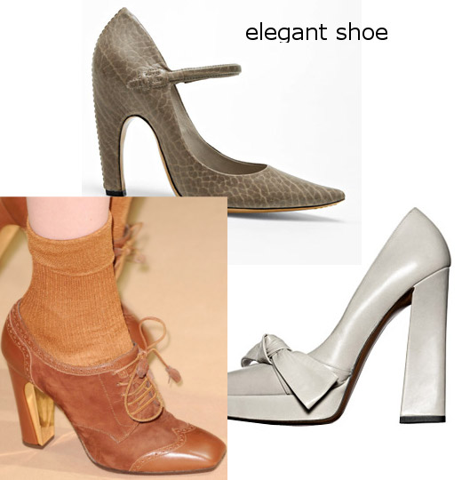 womens fall 2010 elegant shoes trend