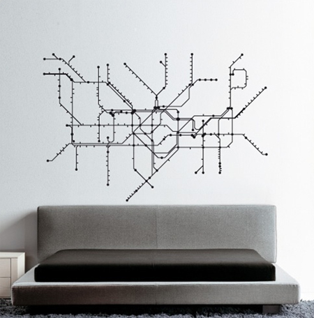 Modern Urban Wall Decals