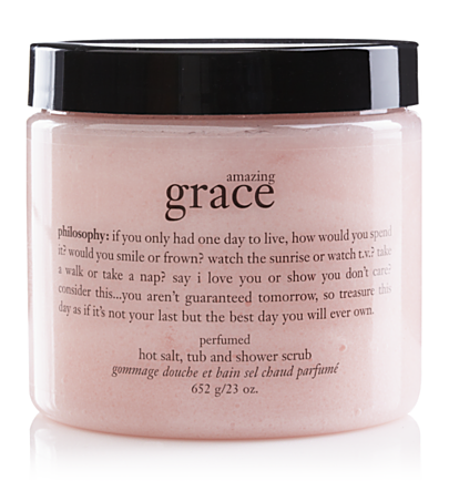 amazing grace salt scrub