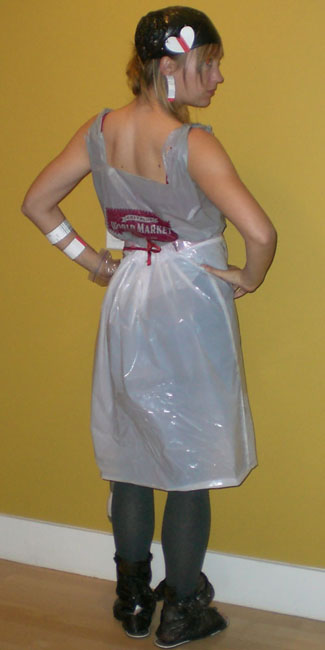 image of Nikki Lindgren recycled hobo clothing