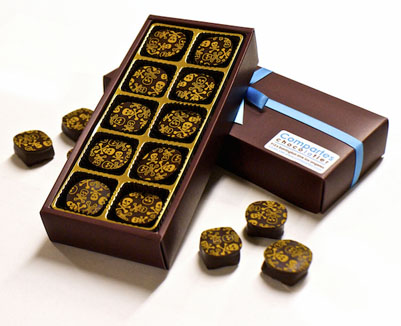 image of compartes chocolate Mexican Hot Chocolate Truffles