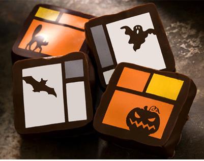 image of recchiuti halloween chocolate