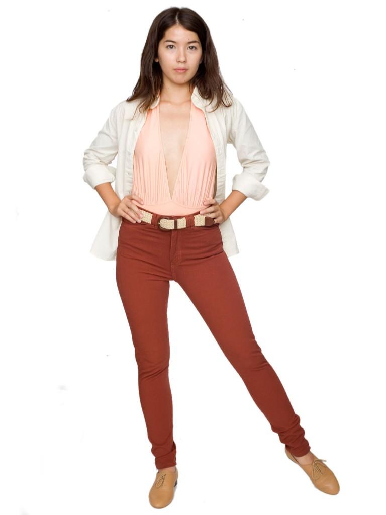 AA high-waist jean