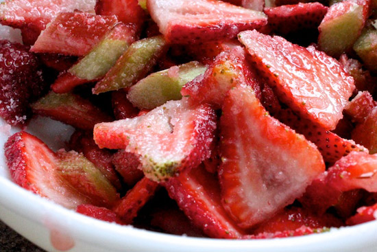 image of strawberries in a bowl