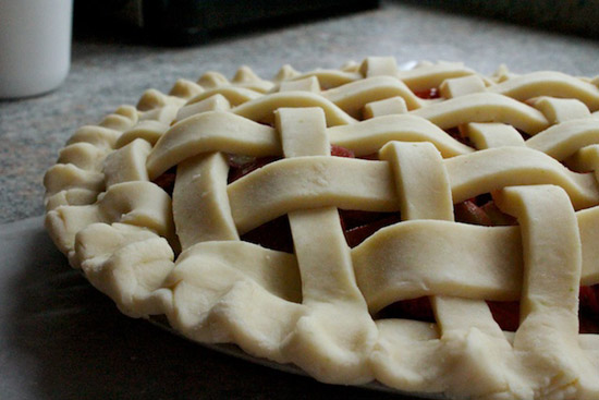 image of lattice pie