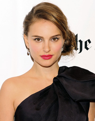 image of natalie portman bright lips