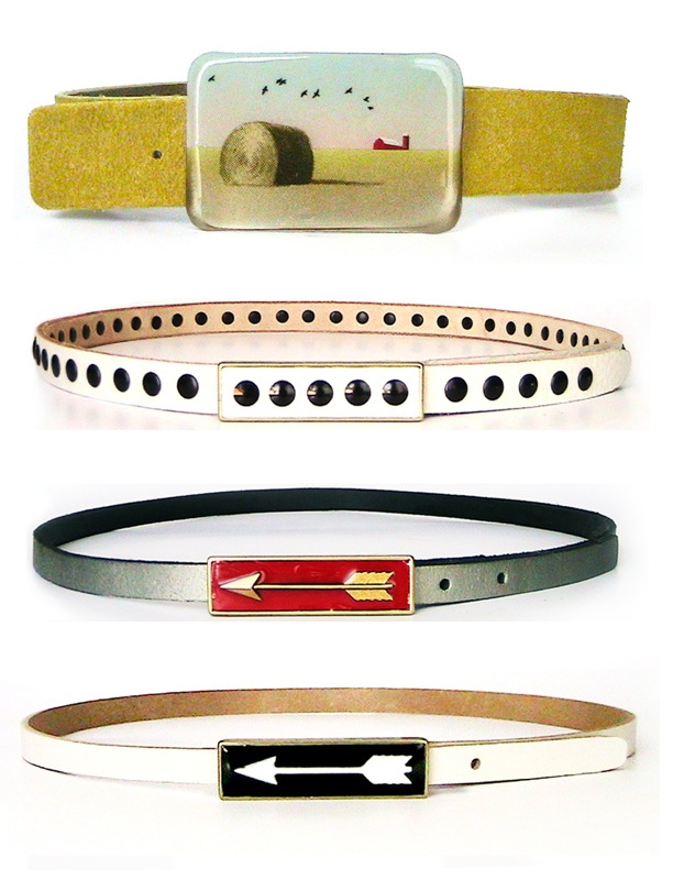 image of Melissa Hutton Resin Belt Buckels