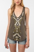 image of Urban Outfitters Ecote pop Bead tank