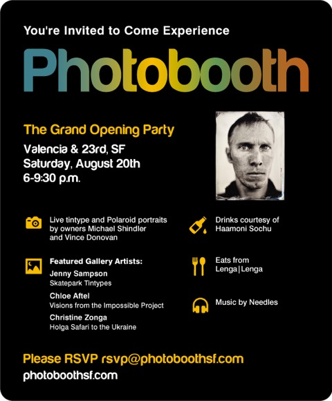 image of PhotoBooth SF Party