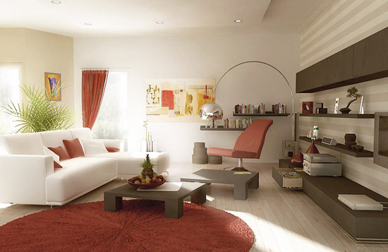 image of modern living room decor 2012 - Living Room Design Ideas 2012