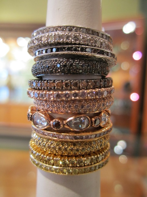 image of Gallery of Jewels Stackable rings
