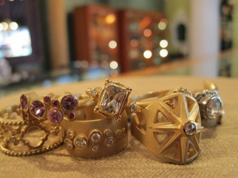image of Gallery of Jewels gold rings