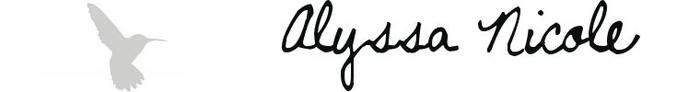 image of alyssa nicole logo