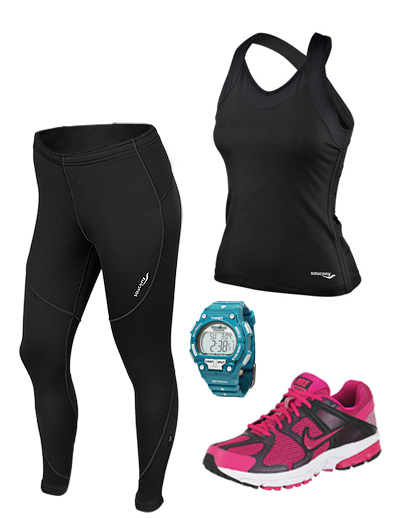 image of running outfit