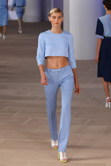 image of Preen Spring 2012 blue suit