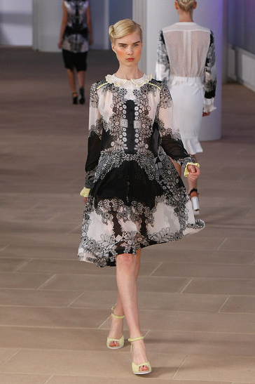 image of Preen Spring 2012 dress