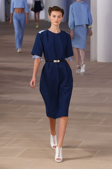 image of Preen Spring 2012 navy dress