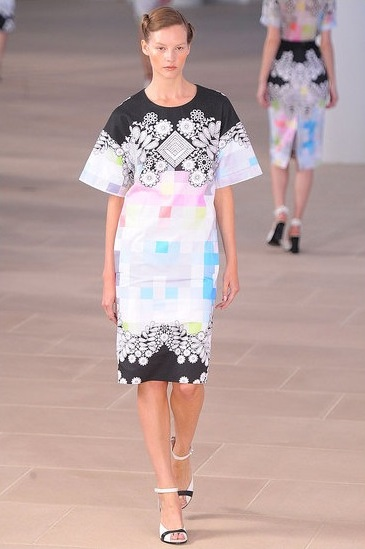 image of Preen Spring 2012 shift dress