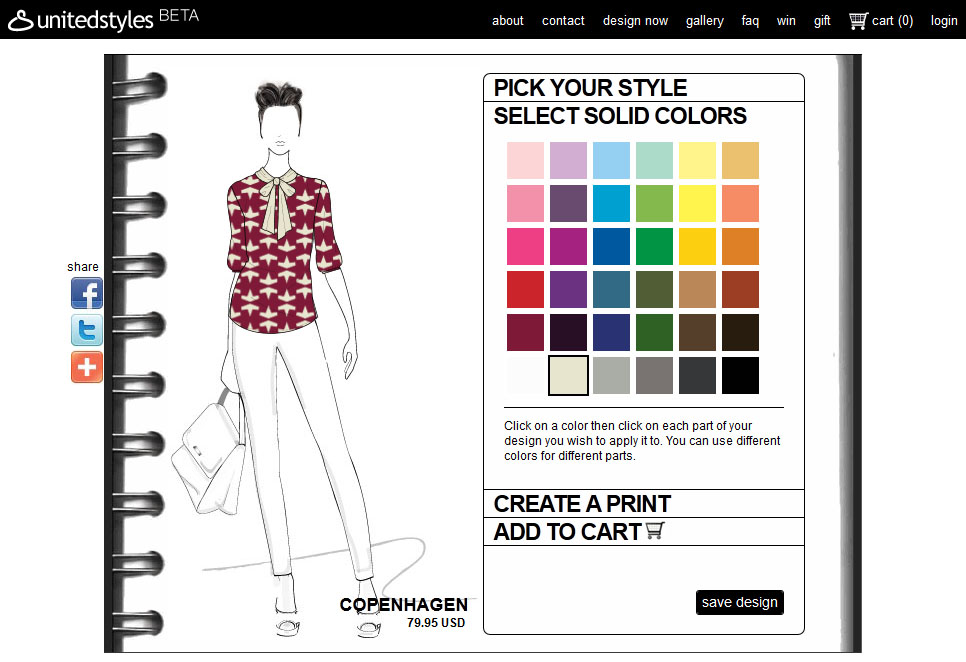Designing Clothes Online your own clothes online