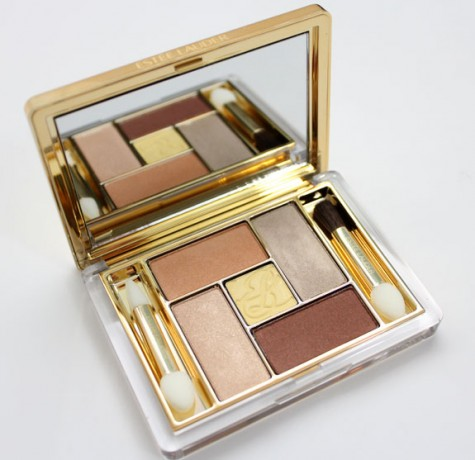 image of Estee Lauder Pure Color Five Color EyeShadow Palette Topaz Moasic Spring 2012