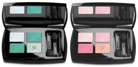 image of Lancome Roseraie Des Delices Eyeshadow Palettes Pink and Blue Lancome Spring 2012