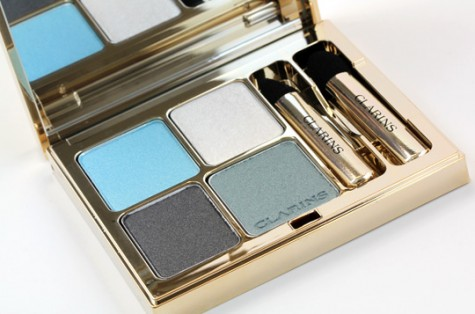 image of clarins blue sky eyeshadow palette Clrains Spring 2012 eyeshadows