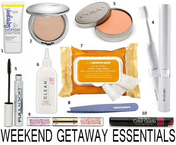image of Top 10 Weekend Getaway Beauty and Personal Care Products