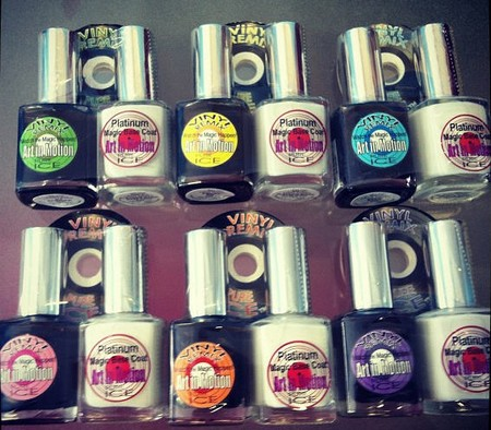 how to apply pure ice crackle nail polish
