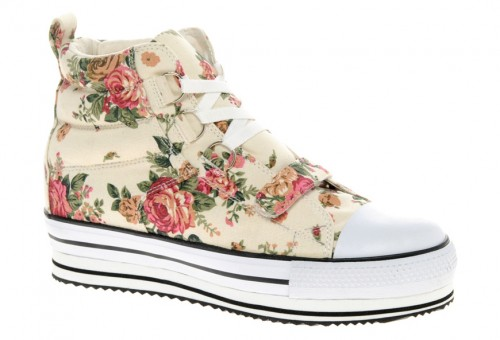 image of ASOS DILLON Flatform High Tops