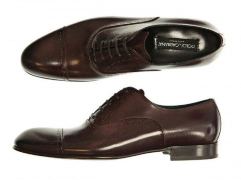 image of Mens Dress Shoe Dolce &amp; Gabbana Stitch Dress Shoes