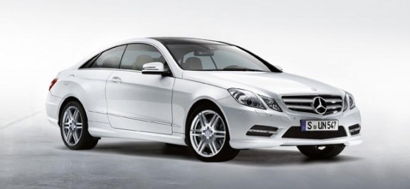 image of Mercedes Benz E Class Coupe