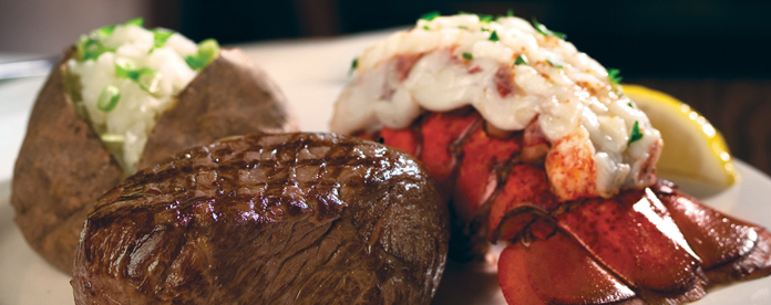 Image result for prime rib and lobster tails