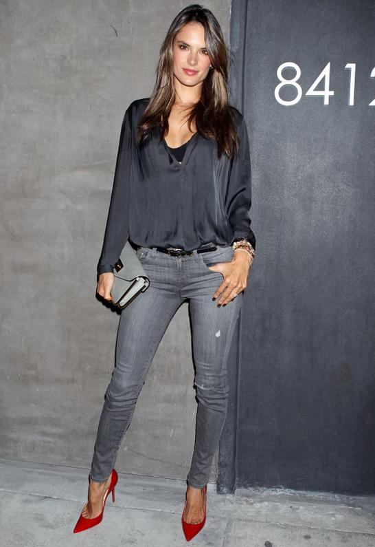 Alessandra Ambrosio in J Brand