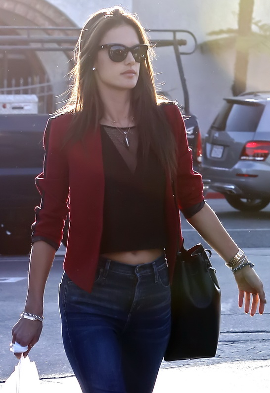 Alessandra Ambrosio in Reese + Riley