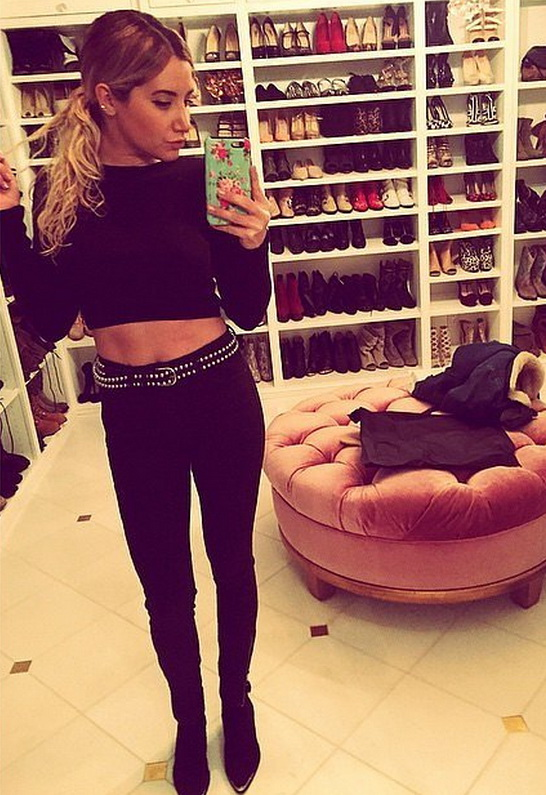 Ashley Tisdale in IRO