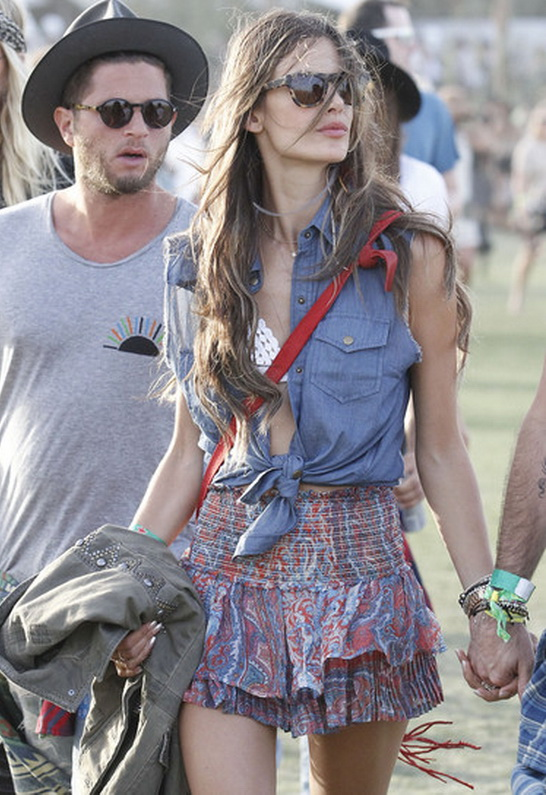 Alessandra Ambrosio in Siwy Denim