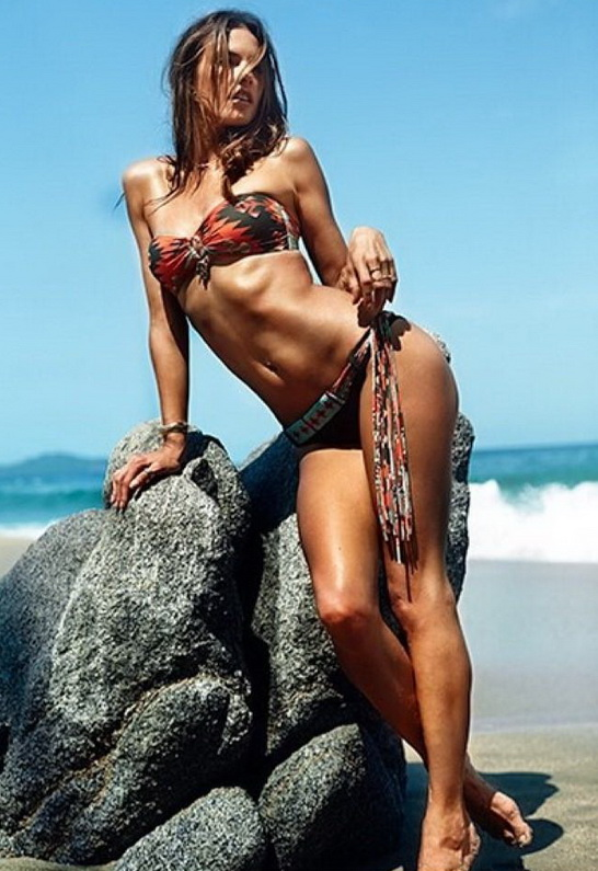 Alessandra Ambrosio in ale by alessandra